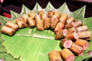 캄보디아 압살라 민속쇼 식사