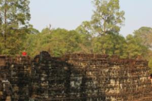 캄보디아 앙코르톰 코끼리 테라스