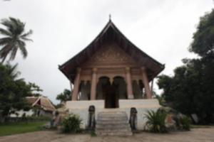라오스 루앙프라방 왓 마이