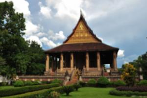 라오스 비엔티엔 왓 호 파깨우 사원