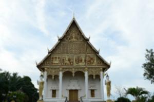 라오스 비엔티엔 탓루앙 사원