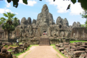 캄보디아 앙코르톰 바이욘 사원