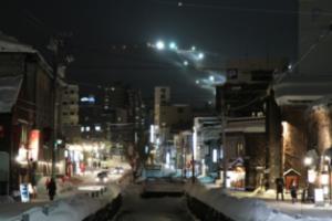 홋카이도 오타루 운하